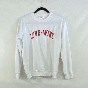 "Sub-Urban Riot ""Love Wins"" Sweatshirt - S"